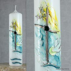 Taufkerze DW 380 von  Kerzenkunst -  Kreatiwita auf DaWanda.com