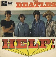 Love this pic! The Beatles in Help! i had this album--i think i wore it out