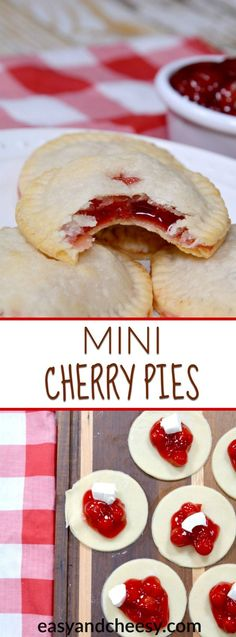 The perfect dessert this fall has to be these MINI CHERRY PIES. These delicious mini versions of your favorite pie have even more flavor than their bigger counterparts! The best part is how simple and easy they are to make!