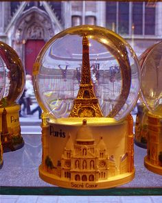 parisian snow globe