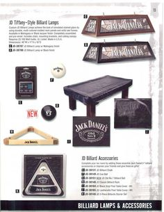 Lovely Jack Daniels Pool Table And Pool Table Light