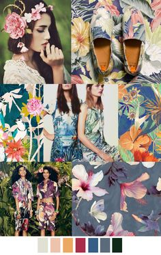 S/S 2017 COLORS & PATTERNS TREND: TAHITIAN TREAT
