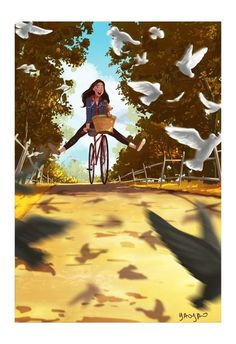 69 ideas for fantasy landscape sky illustrations Art And Illustration, Fantasy Landscape, Fantasy Art, Cute Drawings, Drawing Sketches, Enjoy The Ride, Images Gif, Anime Art Girl, Insta Photo