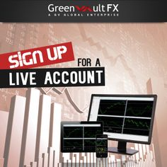 Enjoy the benefits of one-click execution and direct access to large #financial institutions in the world by opening a live account with Greenvault #FX.