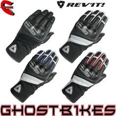 Rev'It Comet Motorcycle Gloves  Description: The RevIt Comet Motorbike Gloves are packed with       features..              OUTER SHELL                       Cowhide                    Goatskin – Tanned leather made from goatskin is considered         extremely durable, and is often used for gloves and other products    ...  http://bikesdirect.org.uk/revit-comet-motorcycle-gloves/