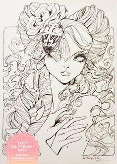 Lost Innocence Inks by KelleeArt.deviantart.com on @deviantART