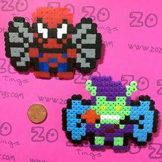 He encontrado este interesante anuncio de Etsy en https://www.etsy.com/es/listing/201414085/spider-man-pixel-bows