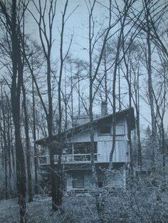 Junzo Yoshimura. Mountain Lodge at Karuizawa 1962|軽井沢の山荘[吉村別荘] 吉村順三