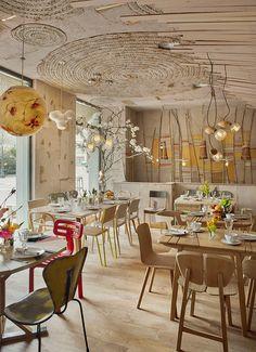 Mama Campo: un patchwork ecológico para crear sensaciones en el centro de Madrid.