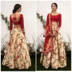 69 Trendy Skirt Outfits Indian Floral PrintsYou can find Indian dresses and more on our Trendy Skirt Outfits Ind. Indian Wedding Outfits, Pakistani Outfits, Wedding Dresses, Indian Weddings, Lehnga Dress, Lengha Choli, Desi Clothes, Indian Clothes, Indian Lehenga