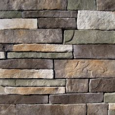 Black Bear Pallets Manufactured Stone - Southern Stacked Stone Mossy Creek Stacked Stone 10 sq ft Flat