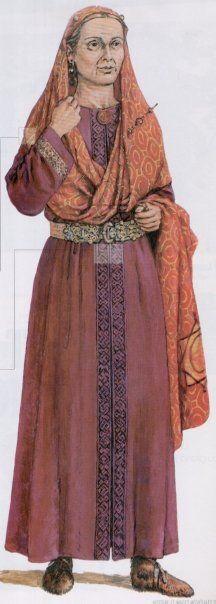 Le sarcophage de la reine mérovingienne Arégonde : bijoux et parures…