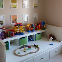 Daybed Turned Into Activity Table...when Guests Visit, The Table Converts  To · Ikea Hemnes ...