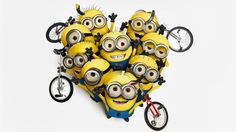 Evil Minions with Unicycles