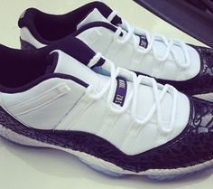 "Air Jordan 11 Low ""Concord Laser"" for Chi McBride - SneakerNews.com"