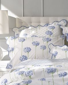 Shop Charlotte Boudoir Sham from Matouk at Horchow, where you'll find new lower shipping on hundreds of home furnishings and gifts. Linen Bedding, Duvet, Bed Linens, White Bedding, Bedding Sets, Boudoir, Elegant Home Decor, Elegant Homes, Tela