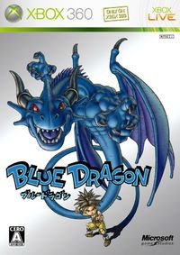 Blue Dragon(ブルードラゴン, Buru Doragon) romanized as BLUE DRAGON in Japan}} is a console role-playing game developed by Mistwalker and Artoon and distributed by Microsoft Game Studios exclusively for the Xbox 360. Blue Dragon is based on a design by Final Fantasy series creator Hironobu Sakaguchi, who also supervised development and wrote the plot. The game was released in Japan on December 7, 2006, in Europe on August 24, 2007 and in North America on August 28, 2007. Blue Dragon follows the...