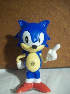 RARE Sonic the hedgehog candy dispenser/Free us by TikTokArt, $20.00