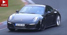 2017 Porsche 911 GTS Hits The Nurburgring - Does It Have A 6sp Manual? #Nurburgring #Porsche