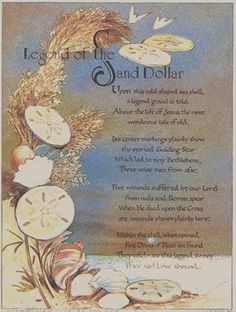 Legend of the Sand Dollar... another story to be told