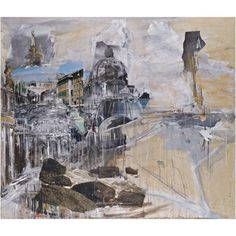 View Architectural Collage By Valery Koshlyakov; mixed media on canvas; Access more artwork lots and estimated & realized auction prices on MutualArt. Abstract Landscape Painting, Landscape Art, Landscape Paintings, Urban Landscape, Abstract Paintings, Landscapes, Man Vs Nature, Art Alevel, Building Art