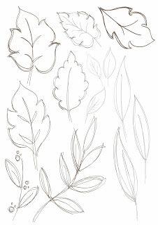 Bobbie print floral drawings