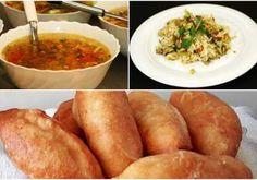 Plăcintă la tigaie cu aluat de cartofi, șuncă și cașcaval - Rețete Merișor Ethnic Recipes, Food, Gourmet, Essen, Meals, Yemek, Eten