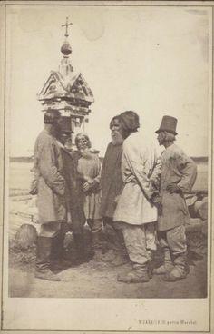 Каррик Мужики возле часовни. Государственный каталог Музейного фонда Российской Федерации