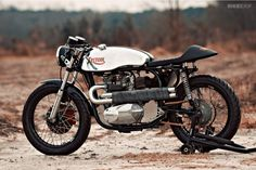 Triton motorcycle by Loaded Gun Customs