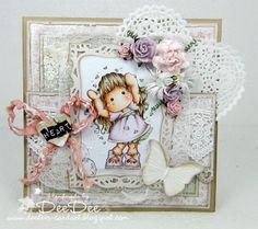 DeeDee´s Card Art: ♥ Love Love Love Tilda ♥