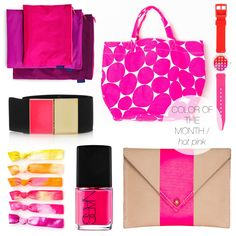 jojotastic | color of the month / hot pink. The month is March!