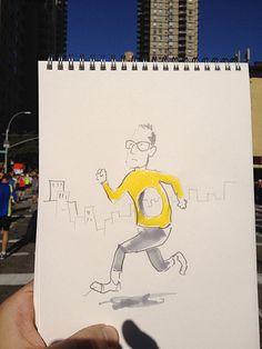 26.2 Miles, 46 Sketches – Christoph Niemann