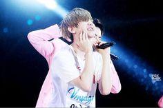 150723 BAEKHYUN at Lotte Lovely Concert ©foxbaek