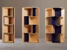 Estante aberta auto-sustentável IN-CANTO Coleção DESIGN by ADELE - C   design Marco Ferreri