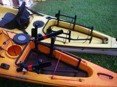Kayak Fishing Crate Ideas New custom pvc crate.