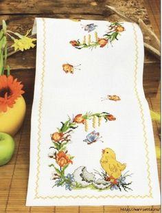 Baby Cross Stitch Patterns, Cross Stitch Bird, Cross Stitch Animals, Cross Stitch Flowers, Cross Stitching, Cross Stitch Embroidery, Crochet Patterns, Rug Hooking Designs, Easter Cross
