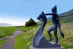 #Eiríksstaðir Living #Museum & also the birthplace of Leif the Lucky who is…