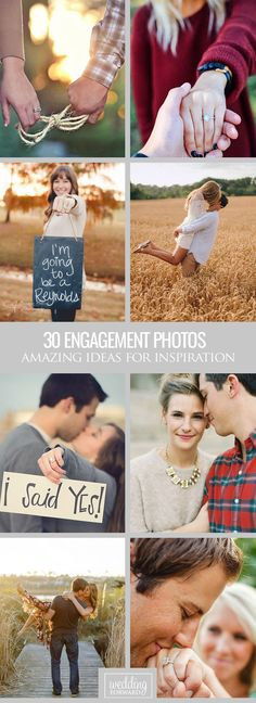 30 Amazing Engagement Photo Ideas ❤ Congrats, you are getting married! In our gallery of engagement photo ideas we have amazing poses for you to keep in your pocket! See more: http://www.weddingforward.com/engagement-photo-ideas/ #weddings #engagement