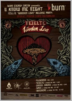 U Know Me Night - Wooden Love Release Party - poster