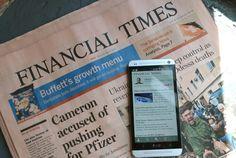 El Financial Times adverteix a Rajoy que li queda poc marge per intervenir a Catalunya Foto: Arxiu.