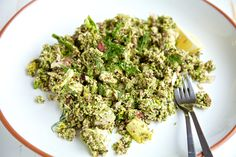Raw Food Recipe Quick Grind Salad