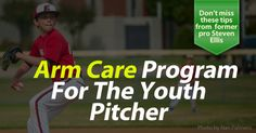 All you need to know about pitching arm care and the best exercises to build a strong and healthy shoulder, rotator cuff, elbow and forearm from former pro pitcher Steven Ellis.