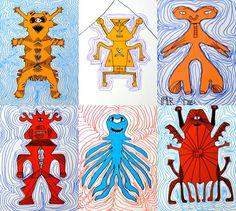 Monstruos simetría