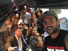 #WeLoveWhatWeDo  Staff of Madame Tussauds New York on #TMZTour #FUN #ILoveMyJob #TeamMerlin