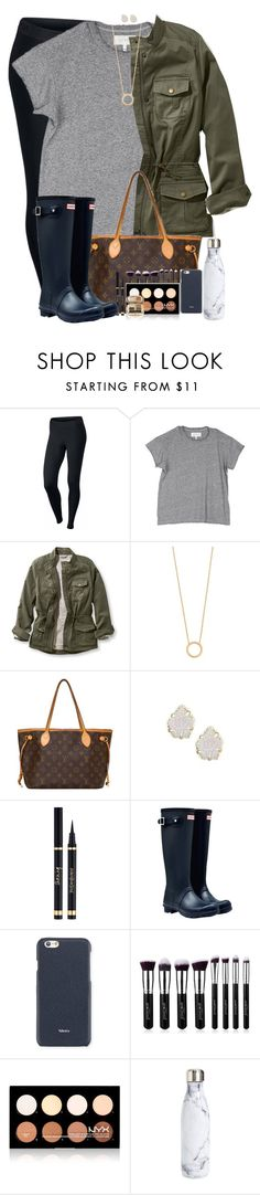 """""""thanks for a great 2016!!!! rtd!!!!!!"""" by simplesouthernlife01 ❤ liked on Polyvore featuring NIKE, The Great, L.L.Bean, Jennifer Zeuner, Louis Vuitton, Kendra Scott, Yves Saint Laurent, Hunter, Valextra and NYX"""