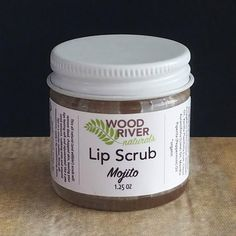 *FINAL SALE (Custom Made) product This all natural (and edible!) scrub will remove dead, chapped skin, leaving your lips feeling soft and rejuvenated! Use a pea