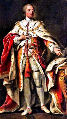 King George III 4 June 1738 - 29 January 1820 Died at Windsor United Kingdom.