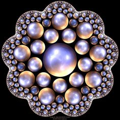 """Daily Fractal"" submission  Fractal Ball #Fraktal#Design#Bol Magic Creative"