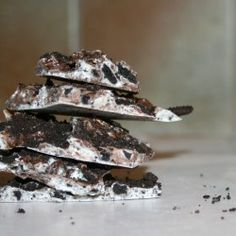 Cookies and Cream Candy Bark