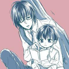 Kaneki and Arima